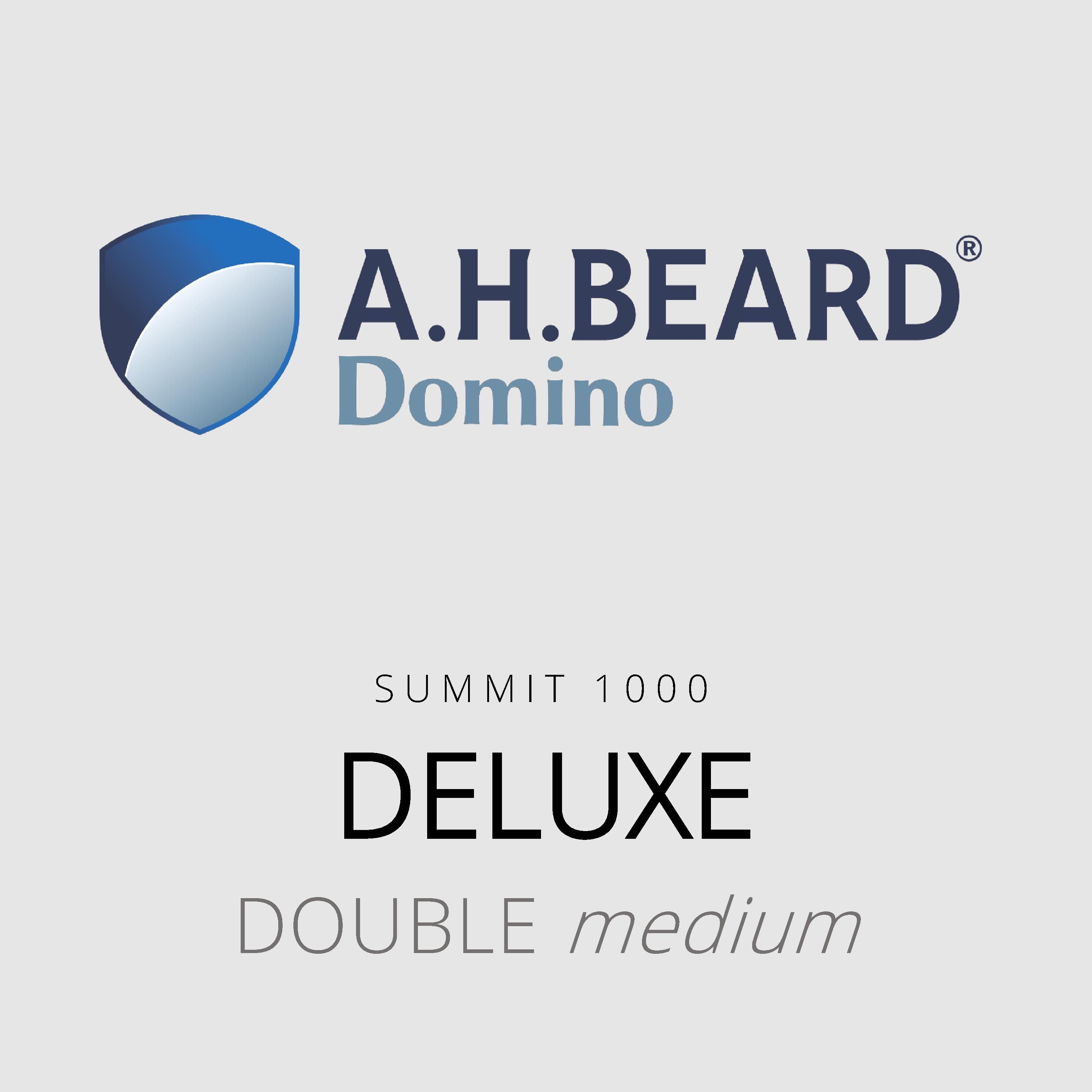 AH Beard Domino – Deluxe – Summit 1000 – Double Medium Mattress