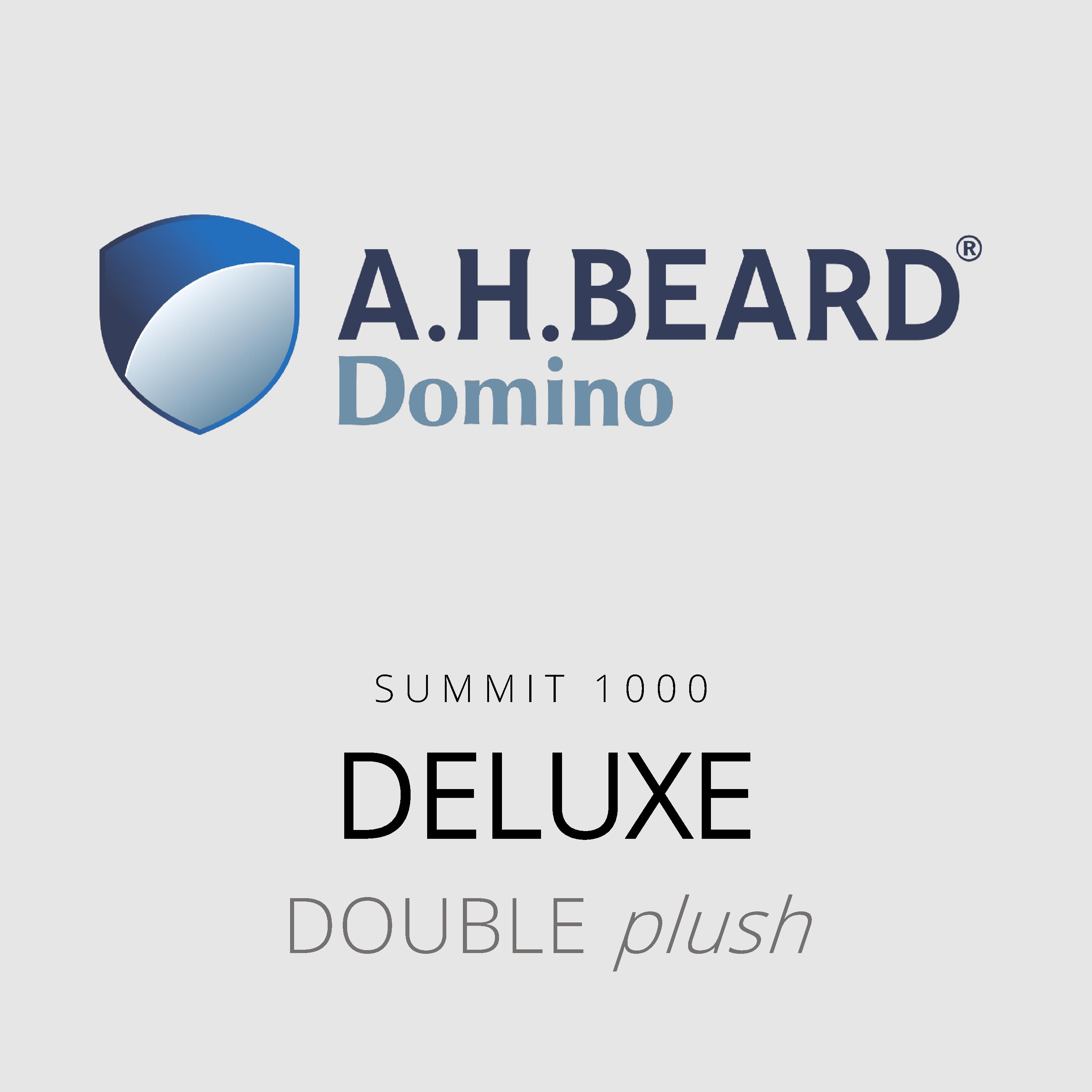 AH Beard Domino – Deluxe – Summit 1000 – Double Plush Mattress