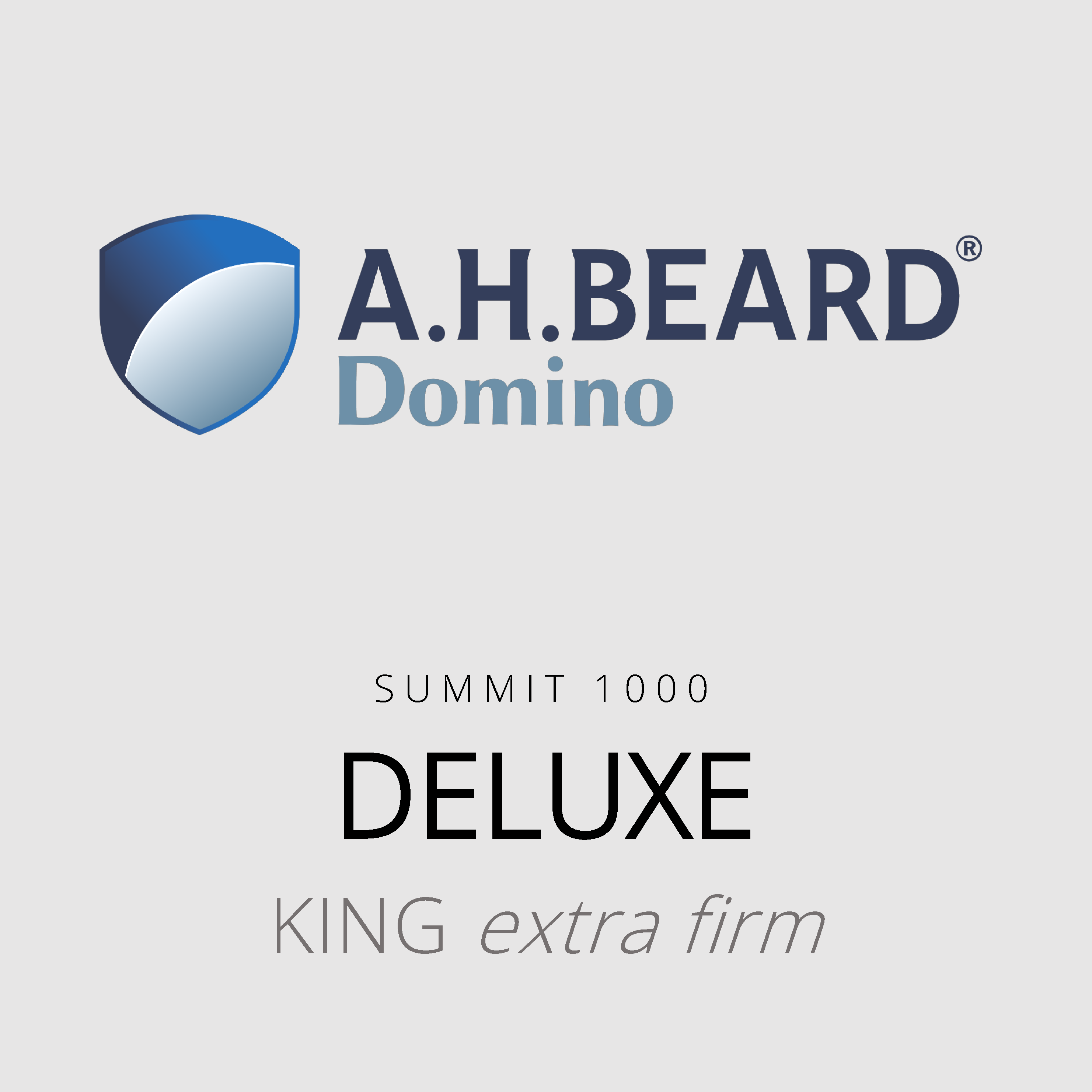 AH Beard Domino – Deluxe – Summit 1000 – King Extra Firm Mattress