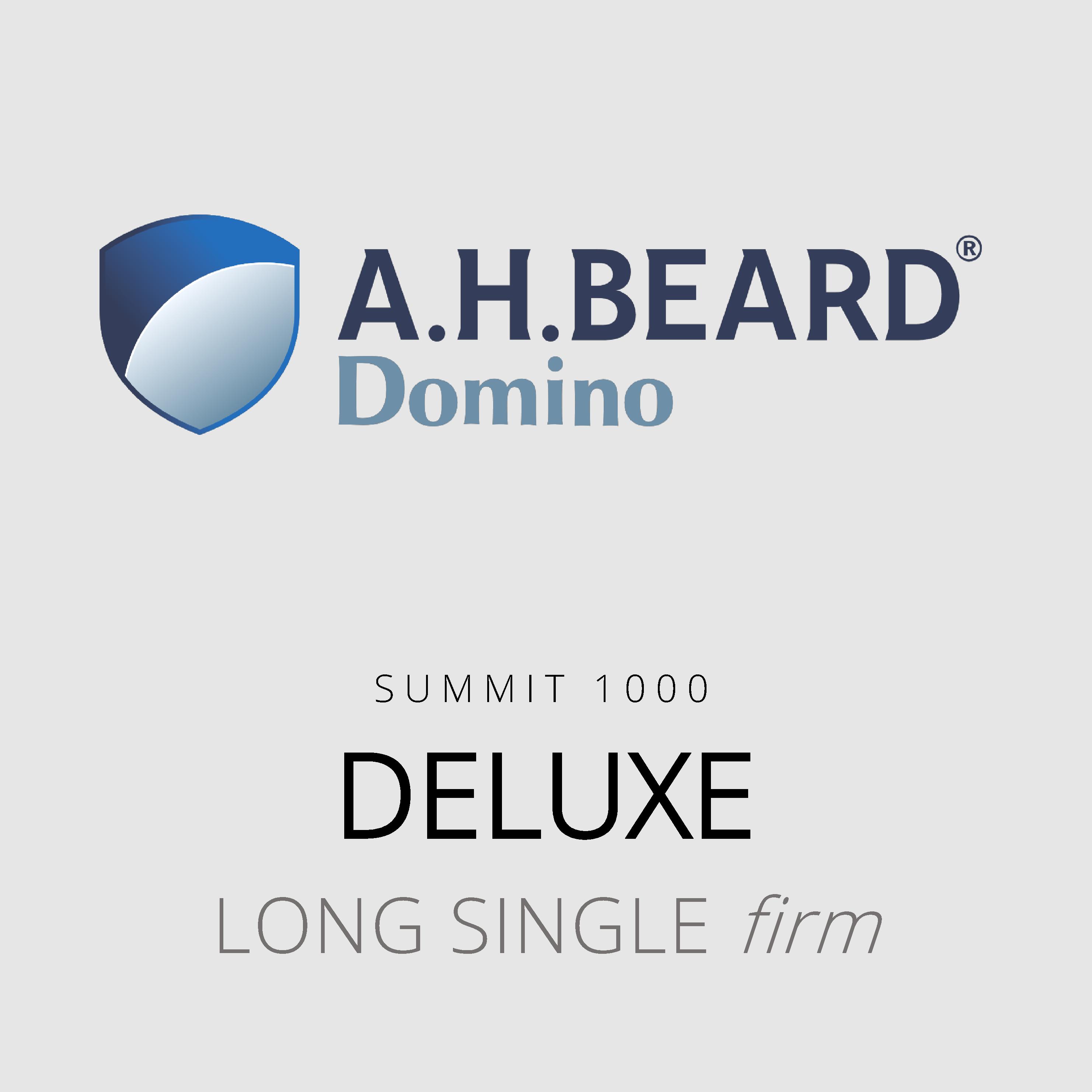 AH Beard Domino – Deluxe – Summit 1000 – Long Single Firm Mattress