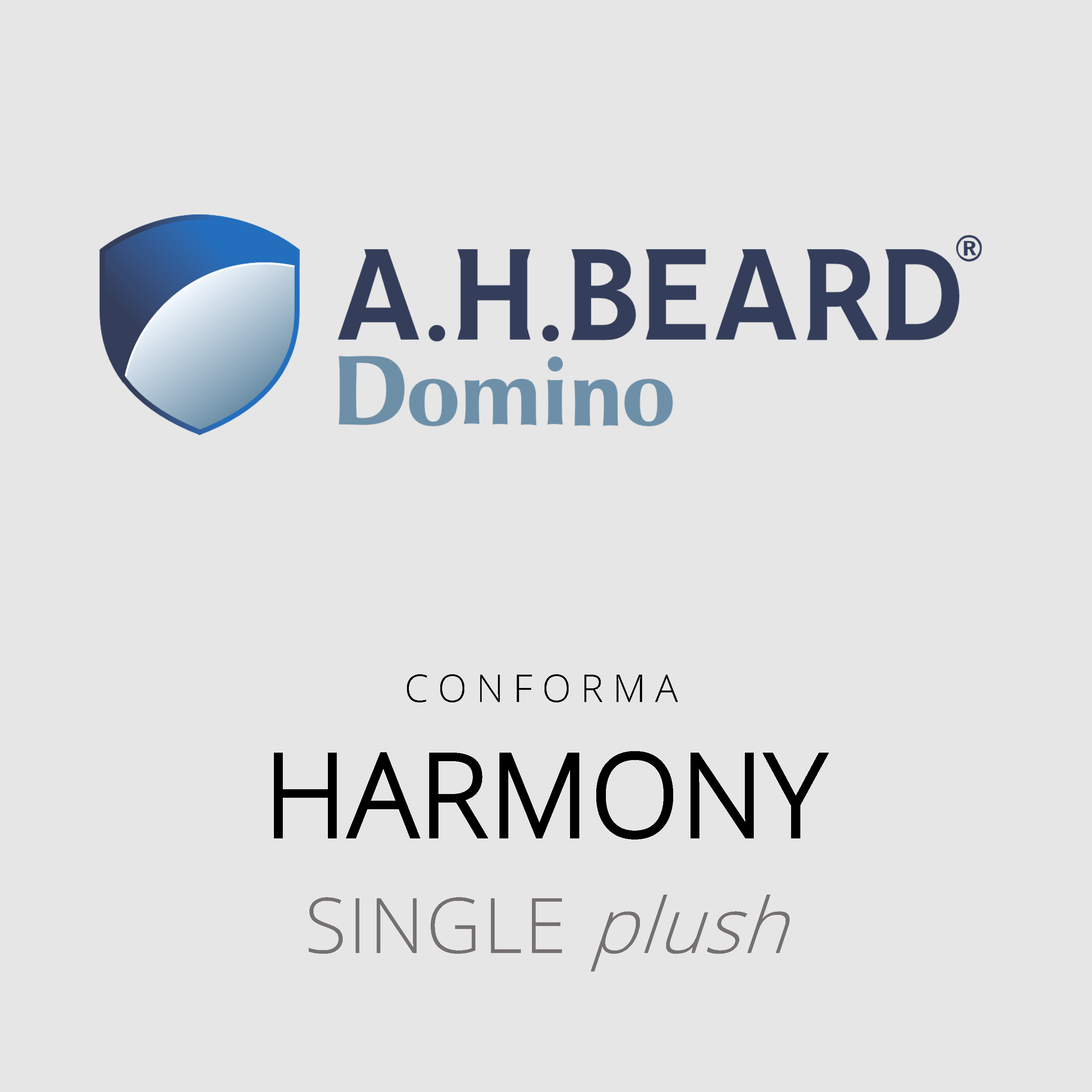 AH Beard Domino – Harmony – Conforma – Single Plush Mattress