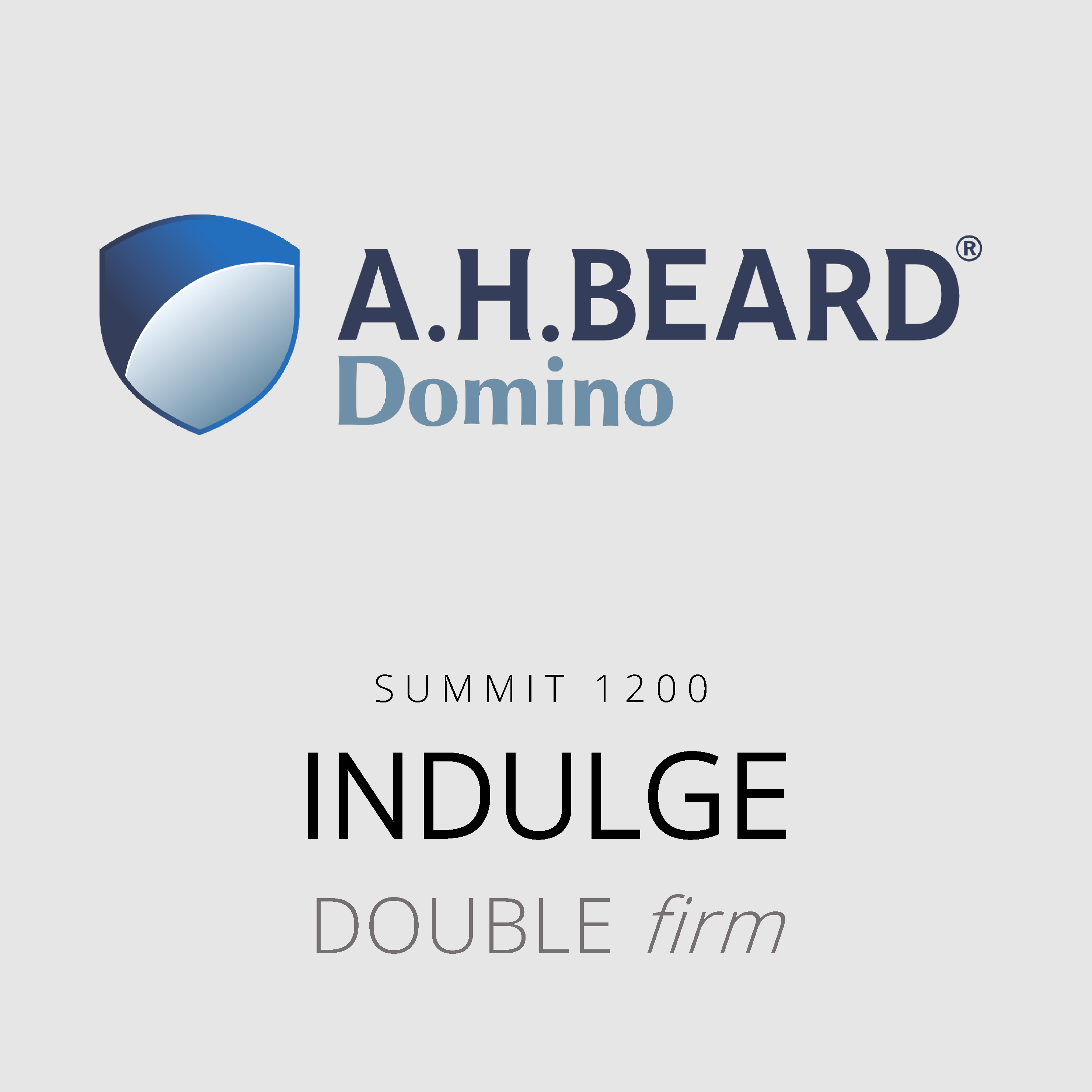 AH Beard Domino – Indulge – Summit 1200 – Double Firm Mattress