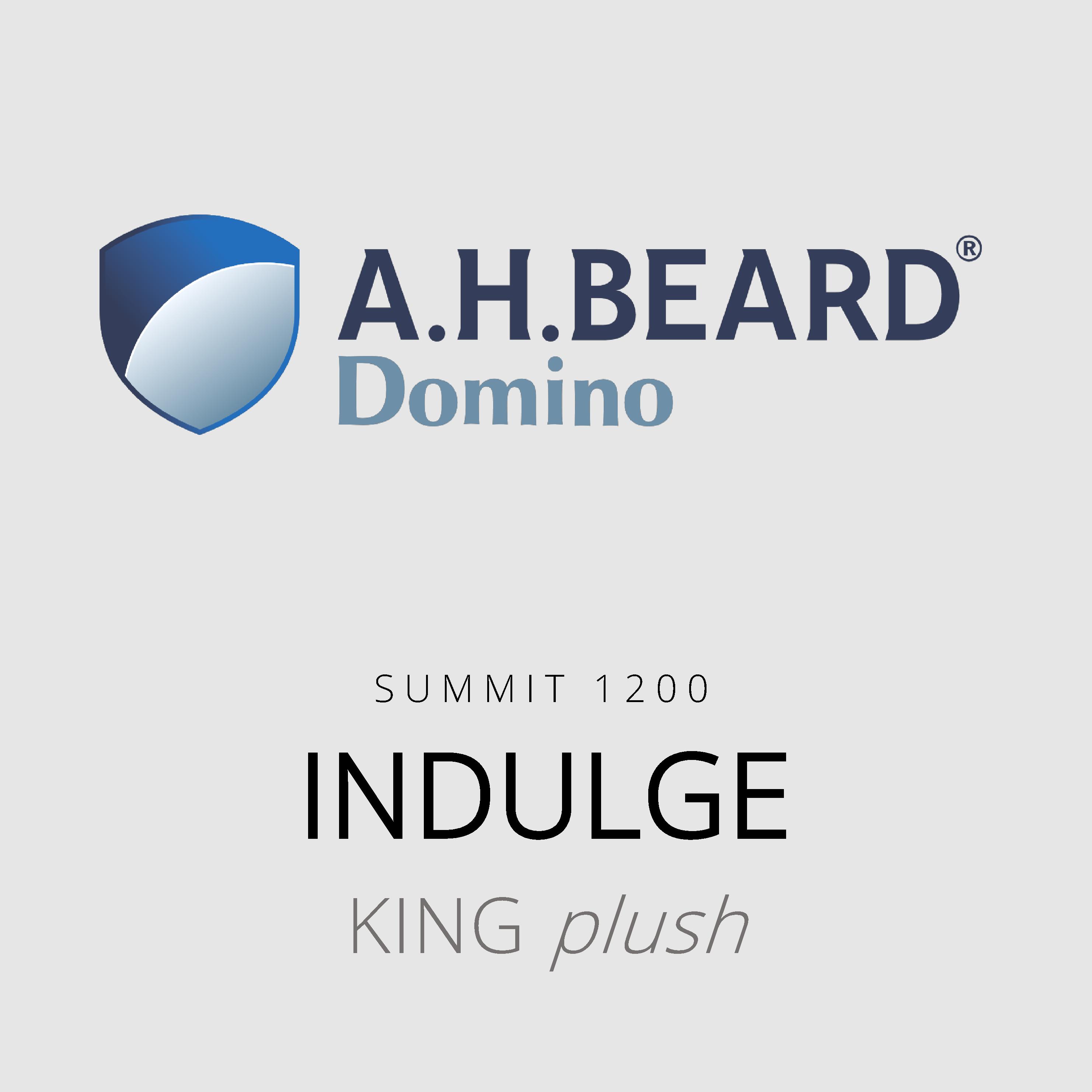 AH Beard Domino – Indulge – Summit 1200 – King Plush Mattress