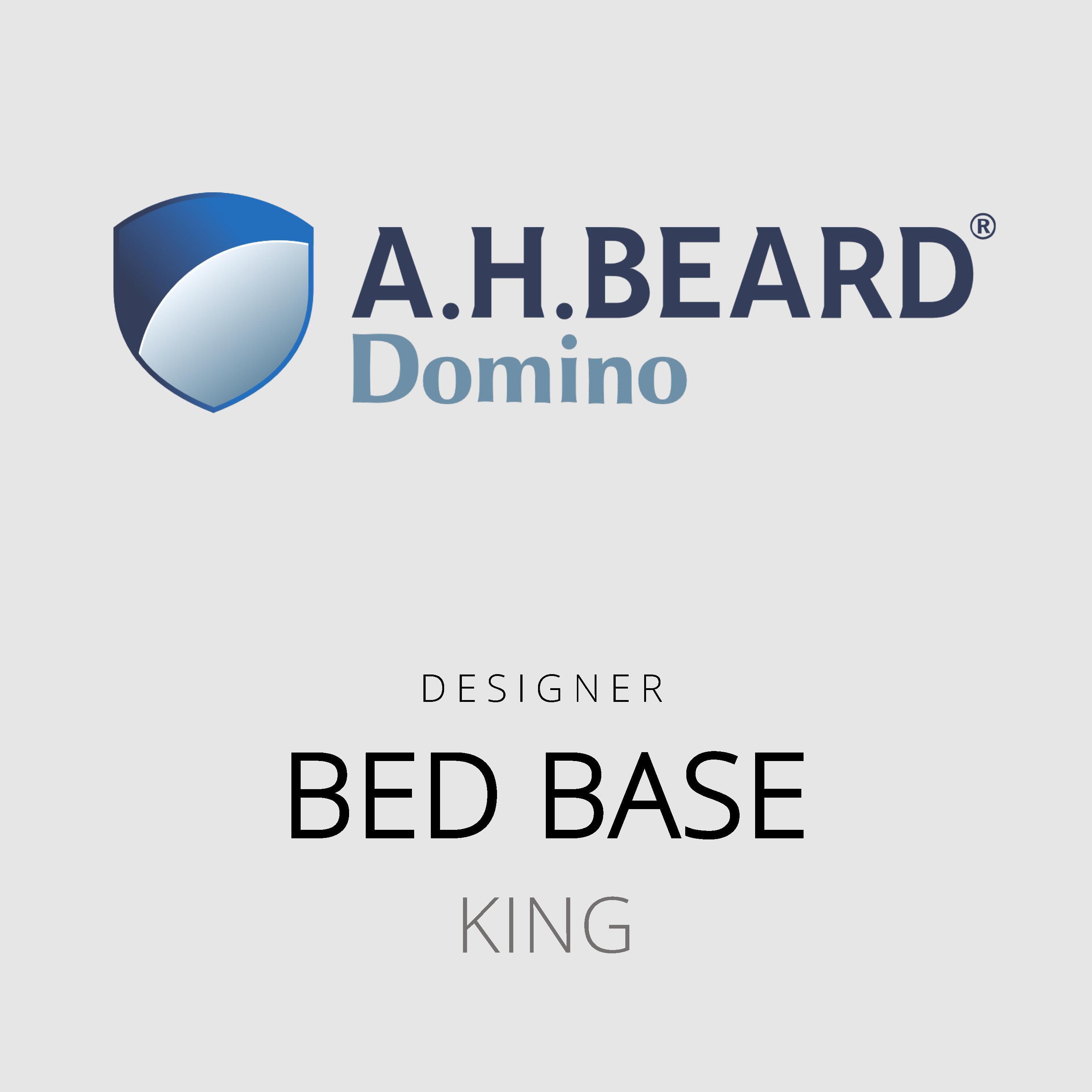 AH Beard Domino – King Bed Base