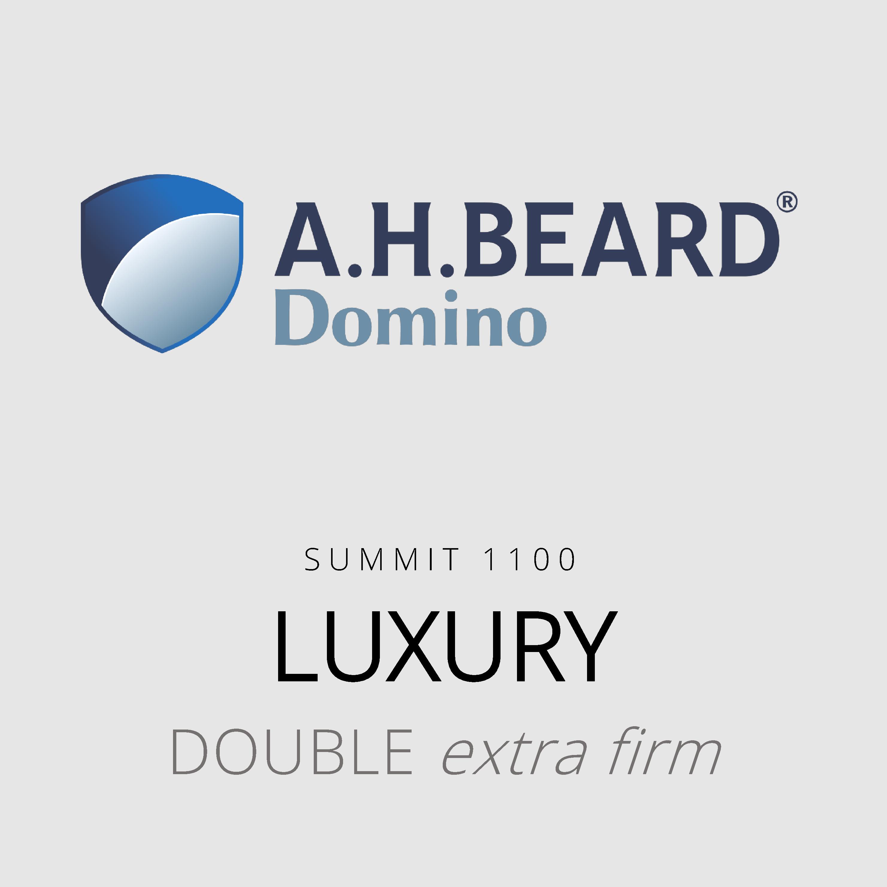AH Beard Domino – Luxury – Summit 1100 – Double Extra Firm Mattress