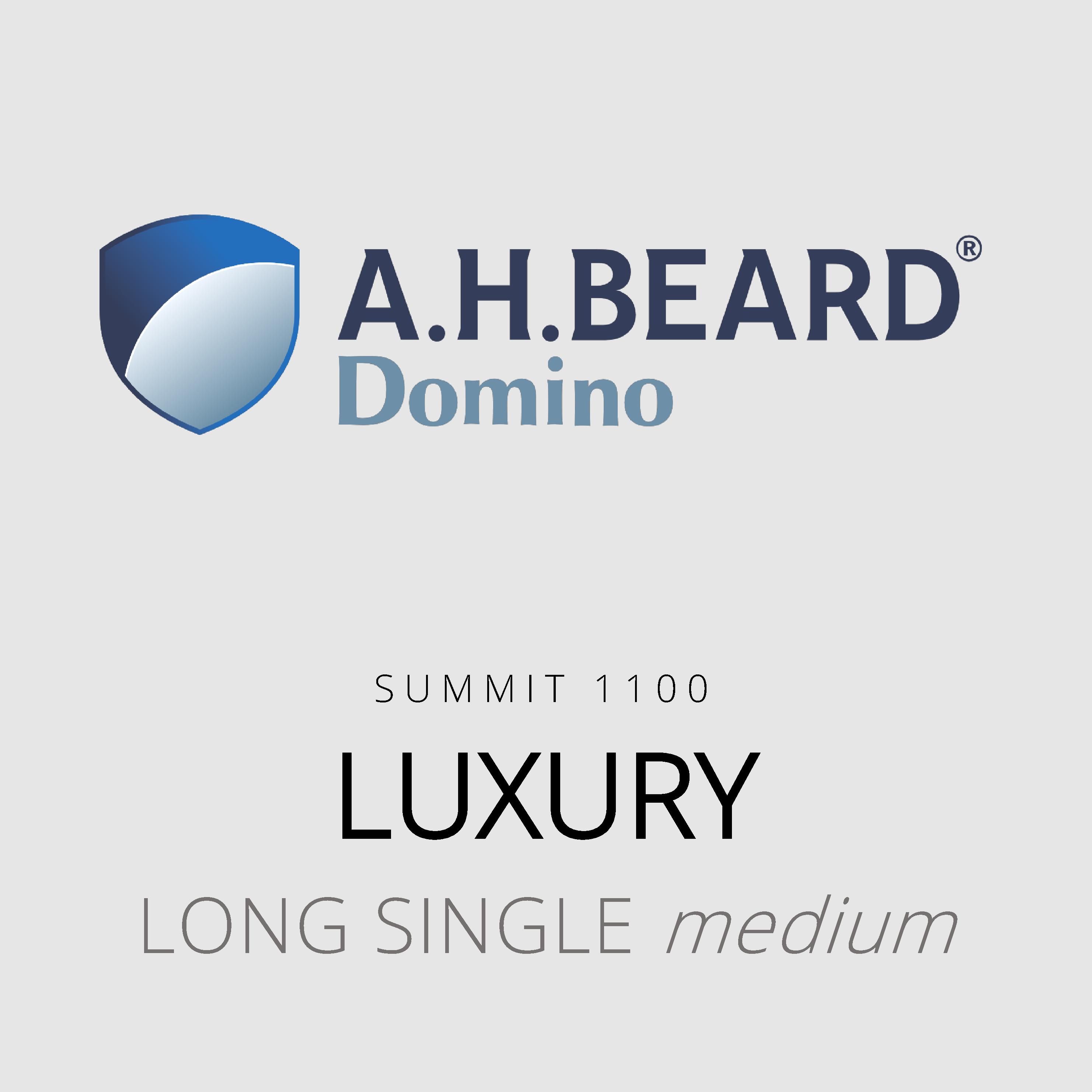 AH Beard Domino – Luxury – Summit 1100 – Long Single Medium Mattress