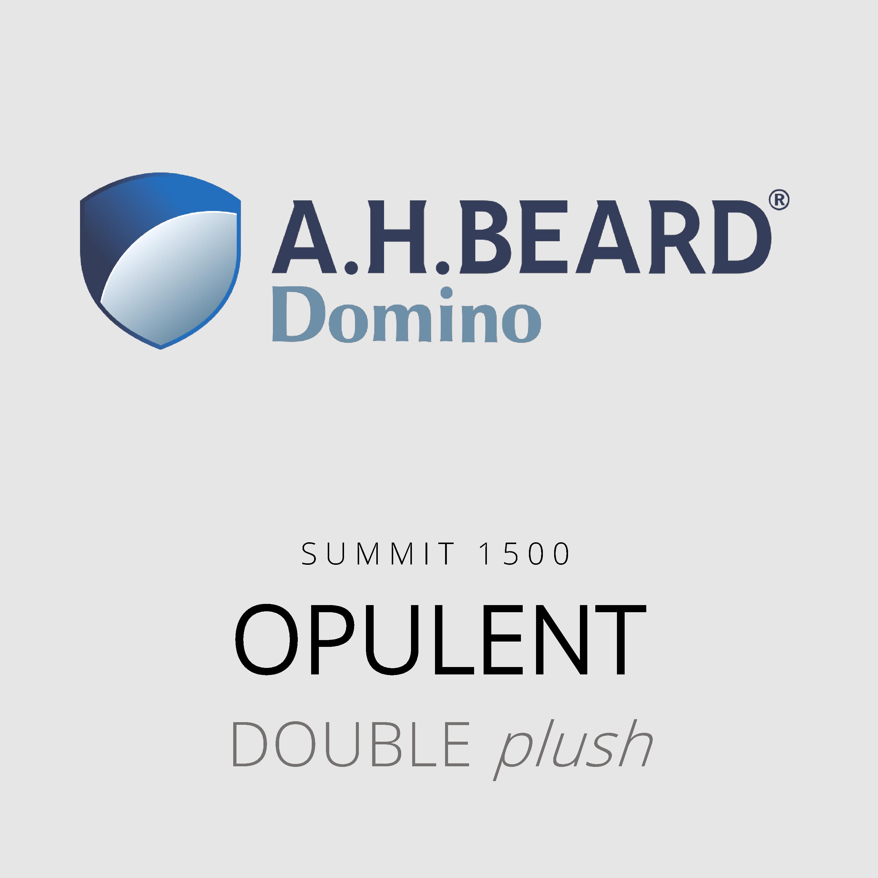 AH Beard Domino – Opulent – Summit 1500 – Double Plush Mattress