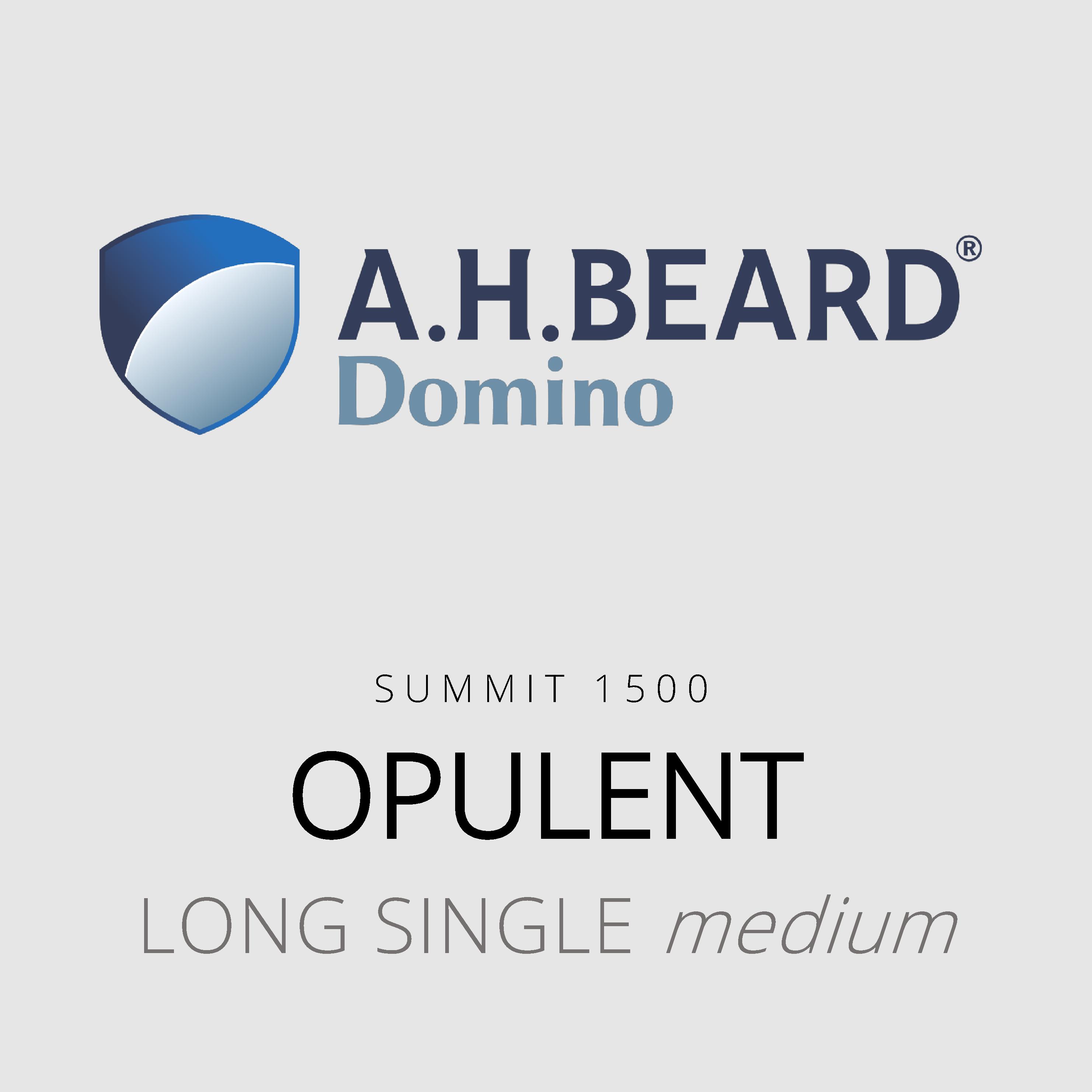 AH Beard Domino – Opulent – Summit 1500 – Long Single Medium Mattress