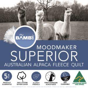 Bambi Moodmaker Superior Alpaca Quilt