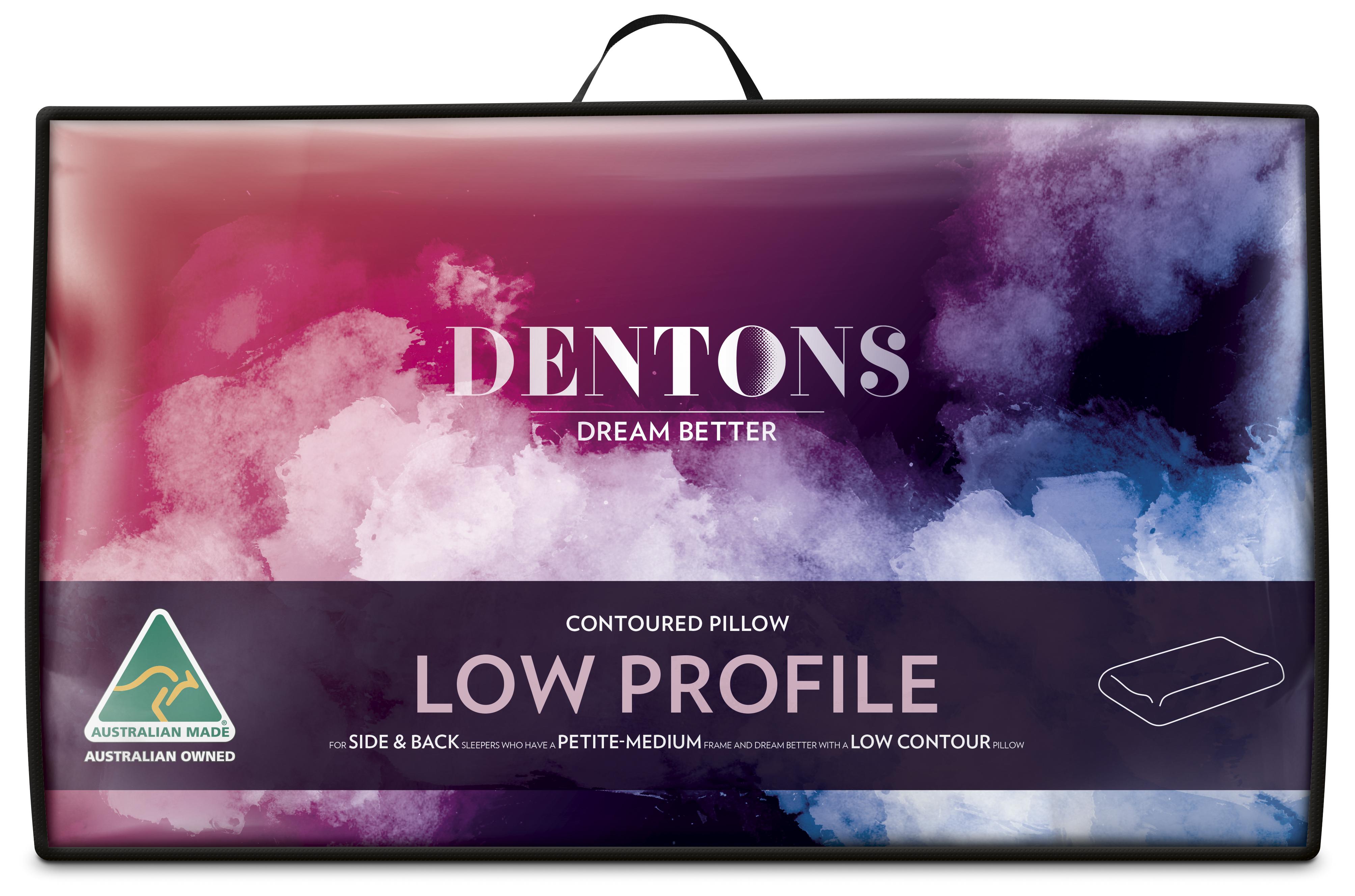 Dentons – Contoured Low Profile Pillow
