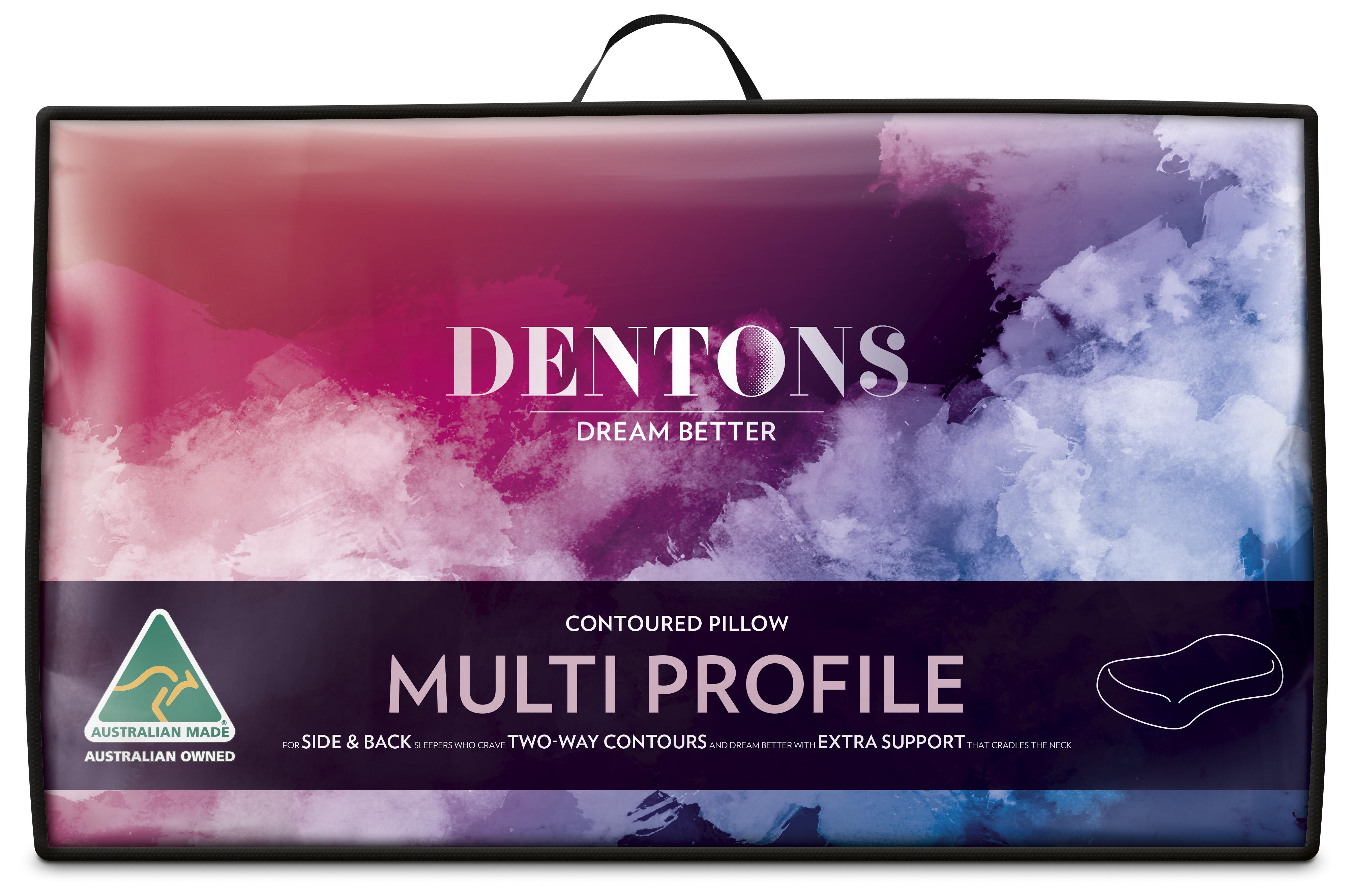 Dentons – Contoured Multi Profile Pillow