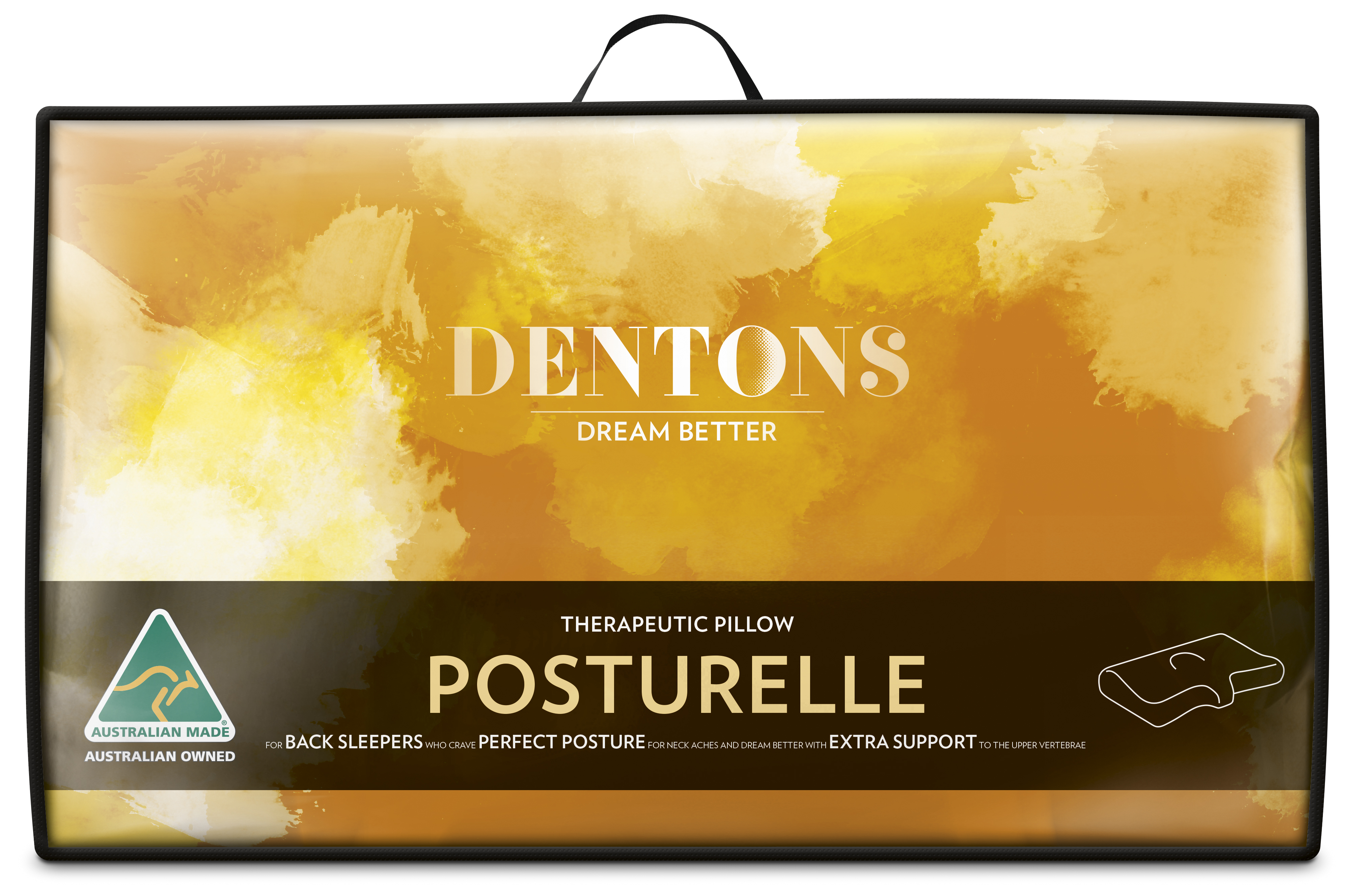 Dentons – Therapeutic Posturelle Pillow