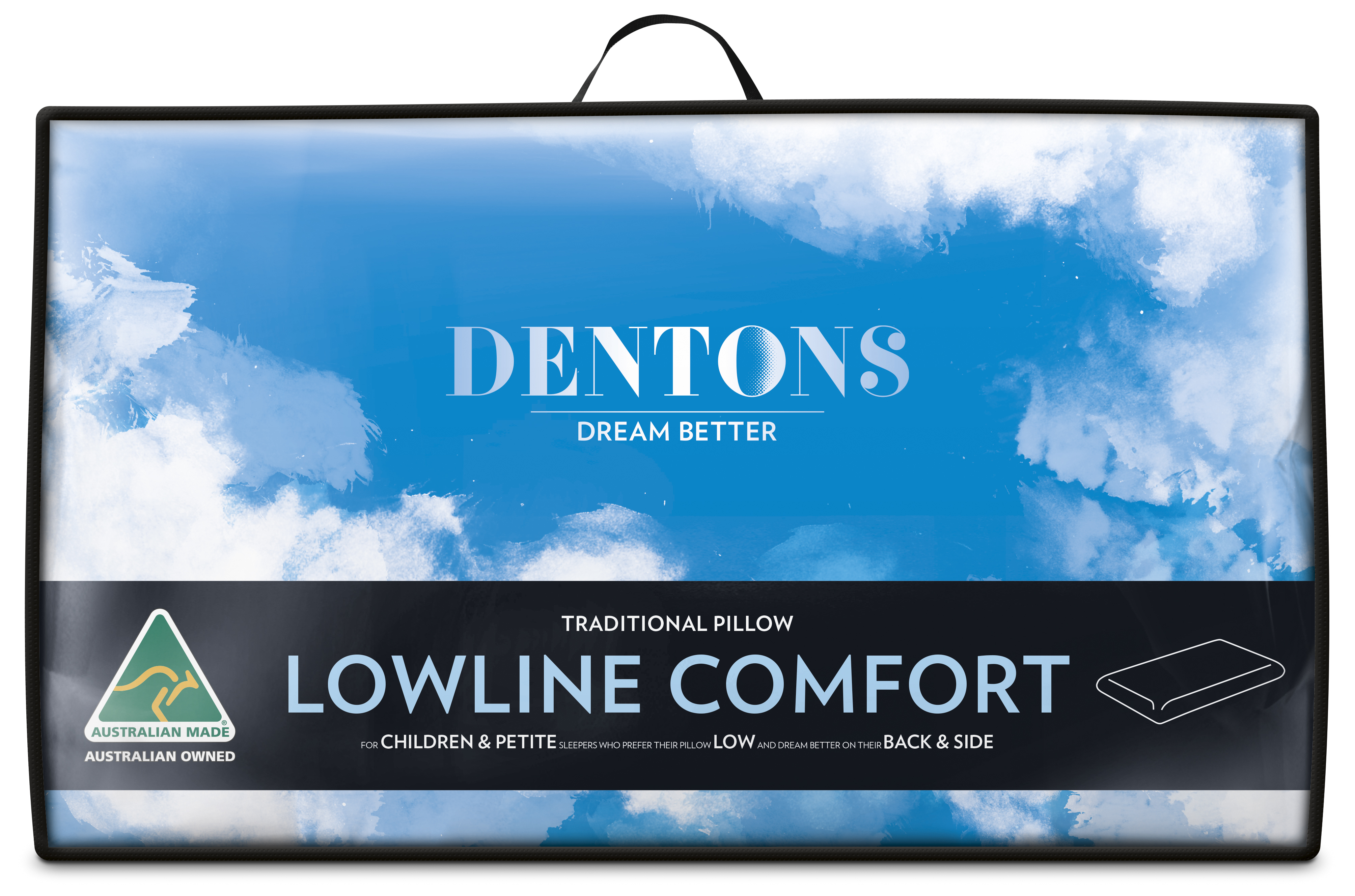 Dentons – Traditional Lowline Comfort Pillow