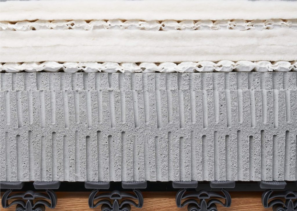 Dreamwool Cross Section Latex Mattress