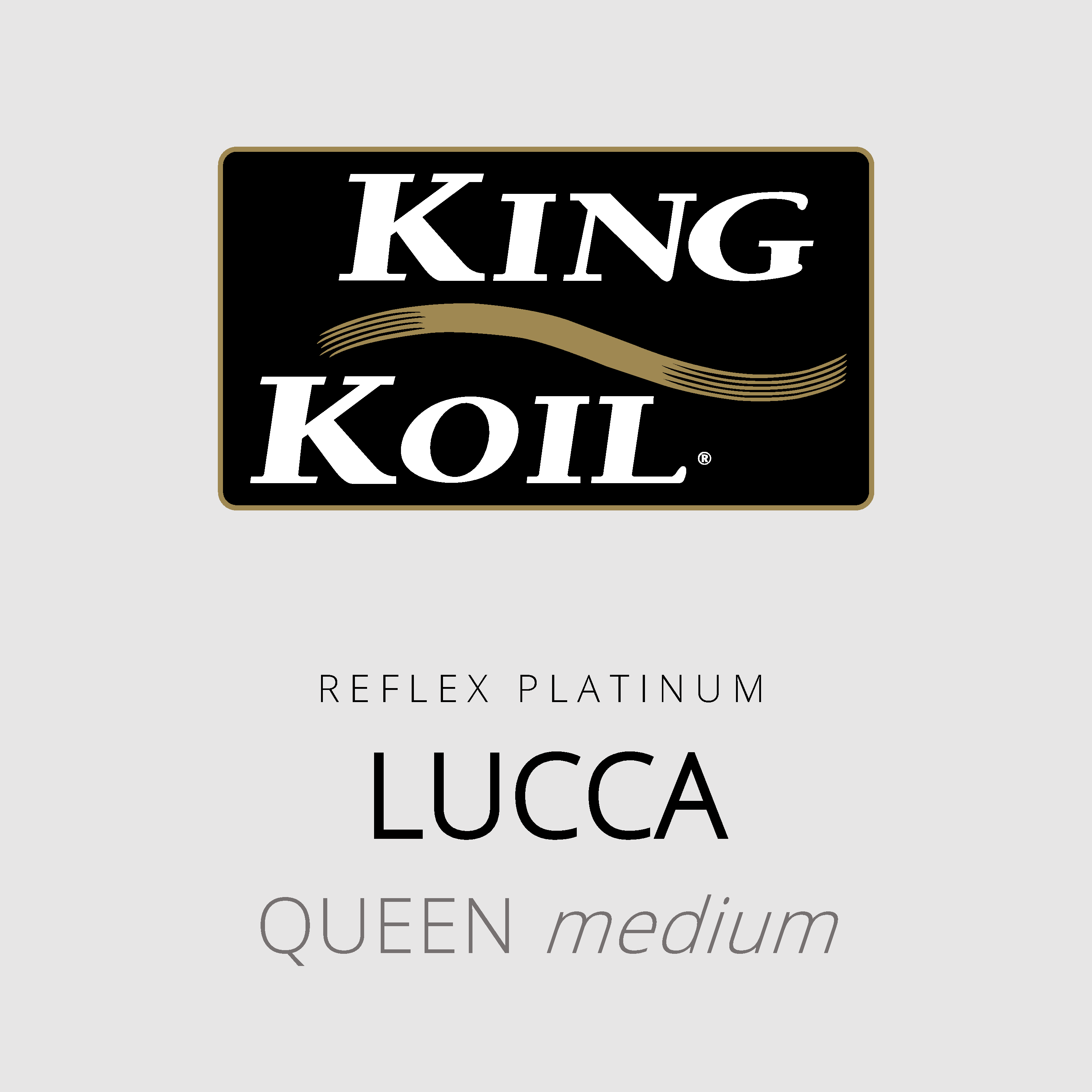 King Koil – Lucca – Reflex Platinum – Queen Medium Mattress