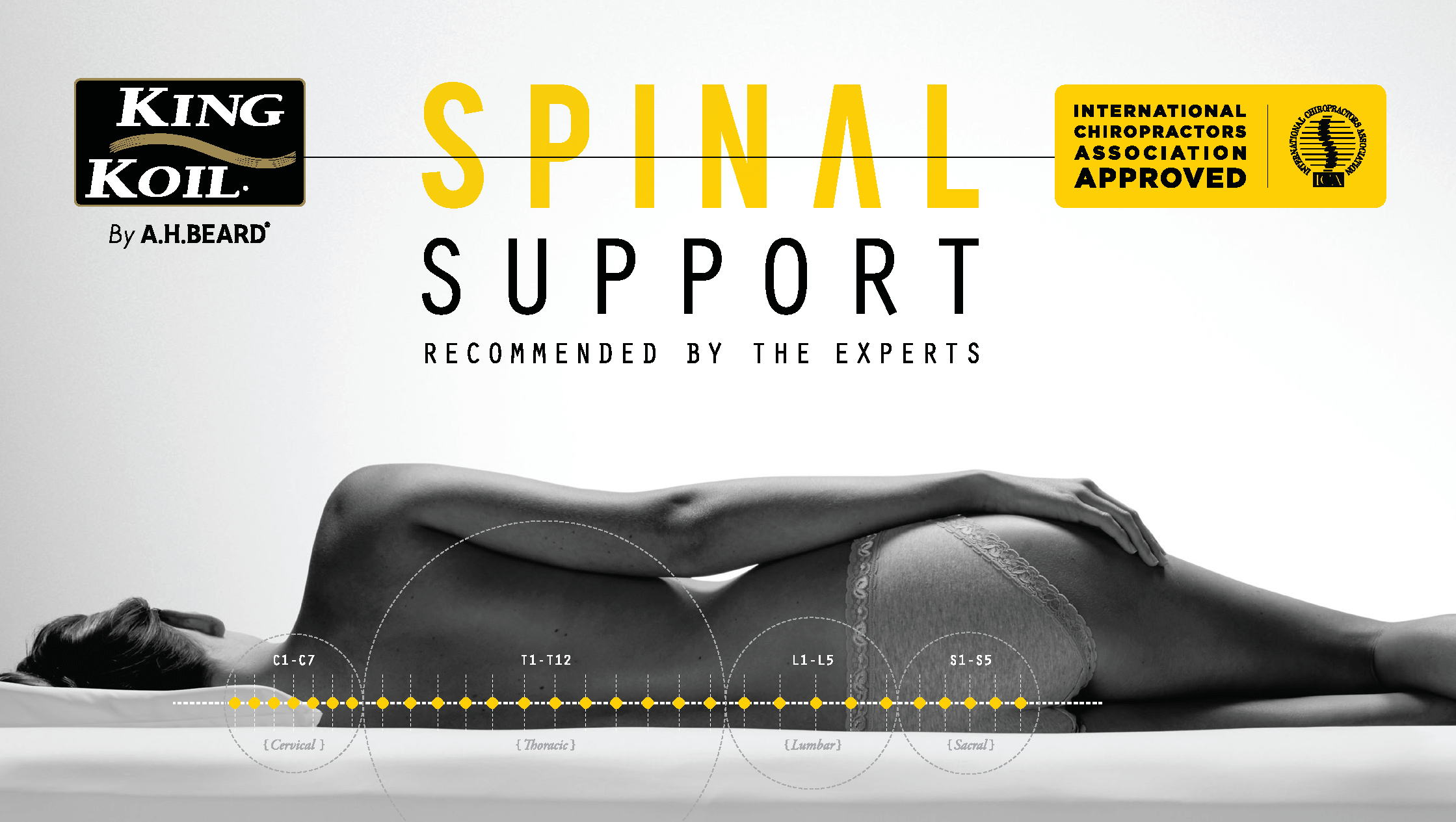 King Koil Spinal Support