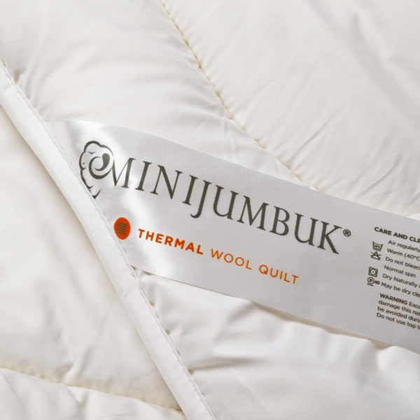 Mini Jumbuk - Thermal - Wool Quilt - Sash