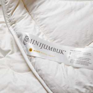 Mini Jumbuk - Warm - Wool Quilt - Sash