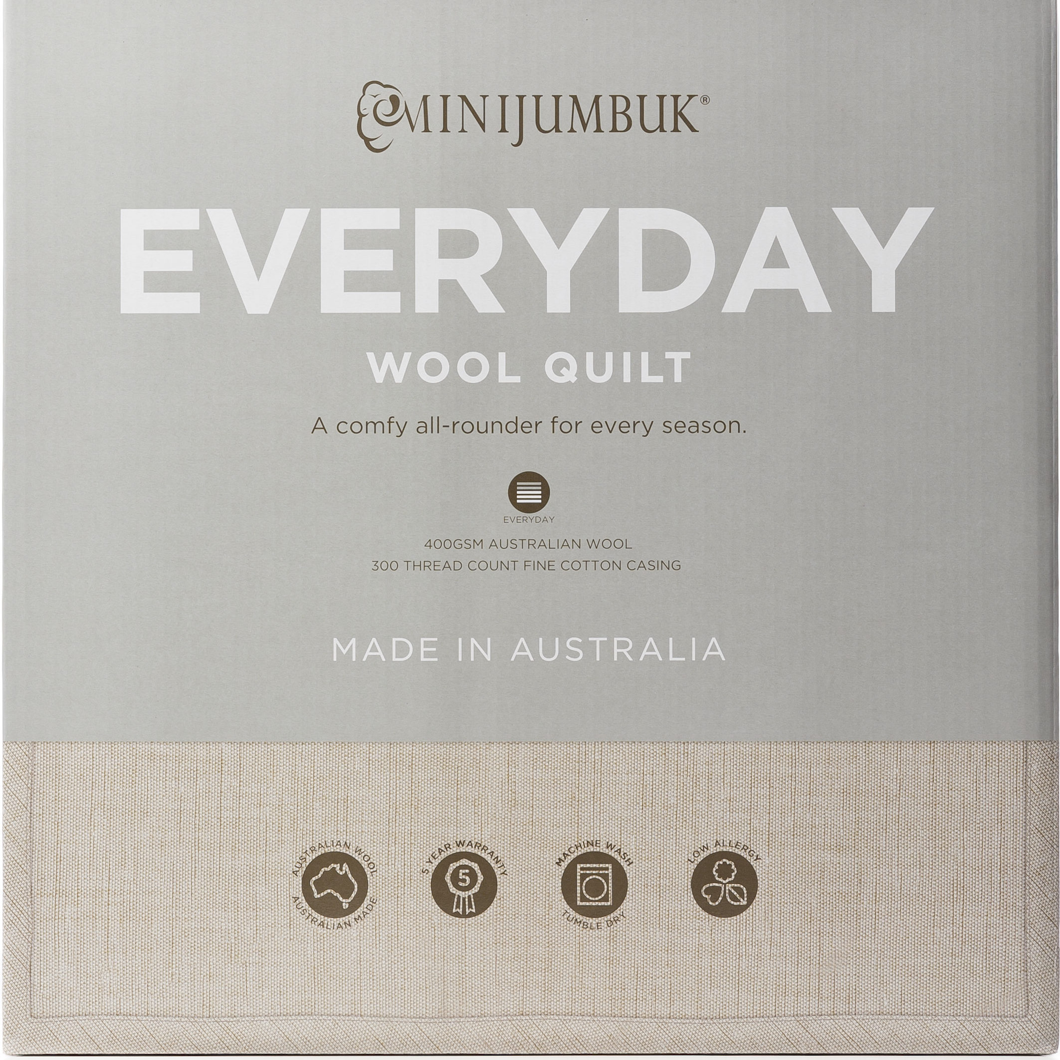 MiniJumbuk – Everyday Wool Quilt