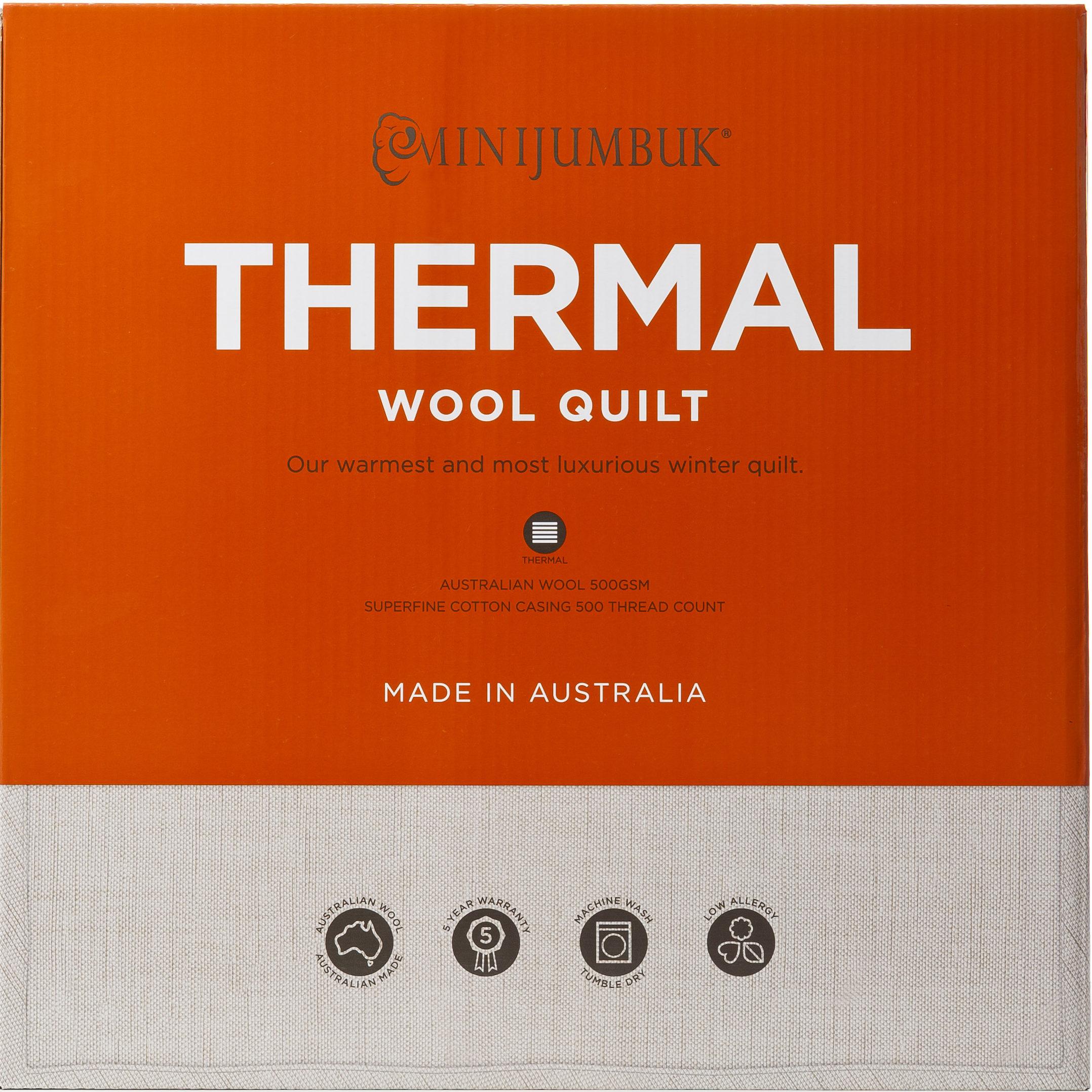 MiniJumbuk – Thermal Wool Quilt