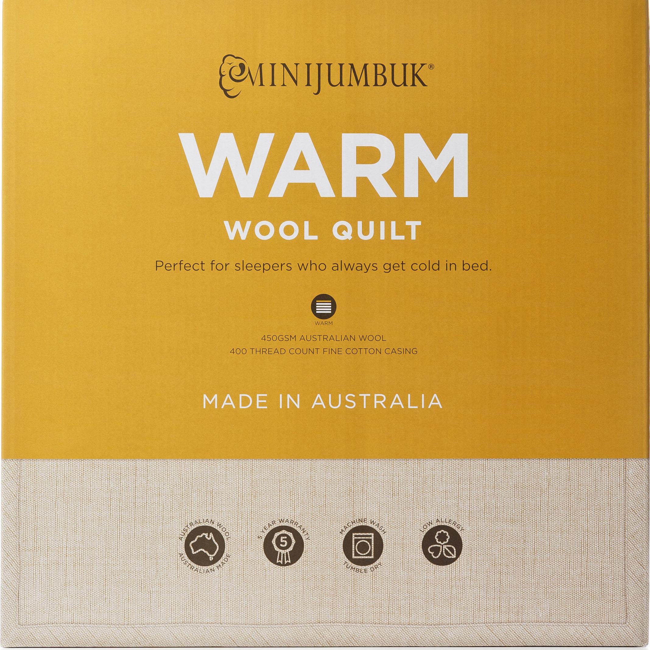 MiniJumbuk – Warm Wool Quilt
