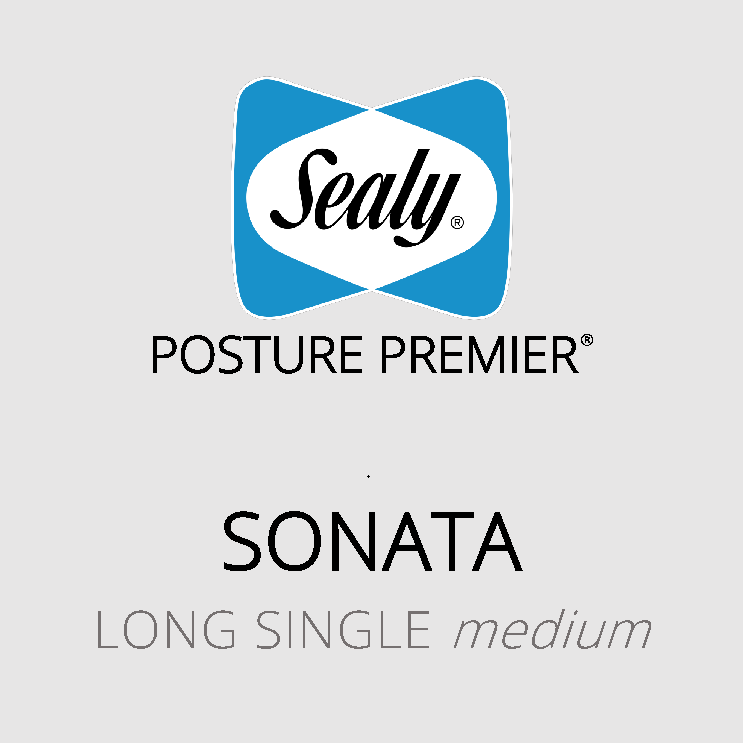 Sealy Posture Premier – Sonata – Long Single Medium Mattress