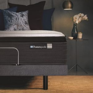 Sealy Posturematic Inspire Adjustable Base with Elevate Flex Mattress