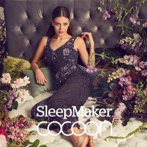 SleepMaker Cocoon Black Mattress Hero