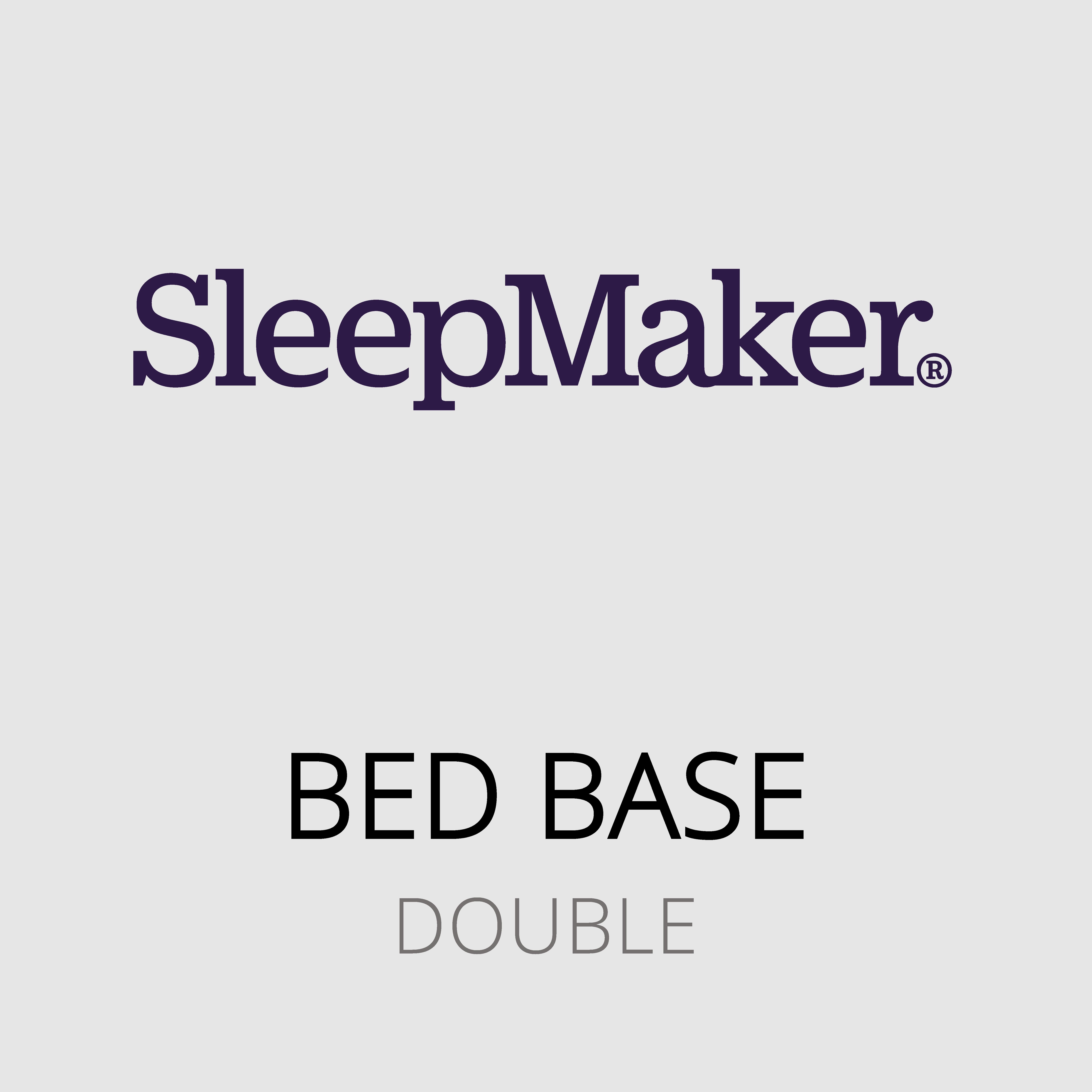 SleepMaker – Double Bed Base