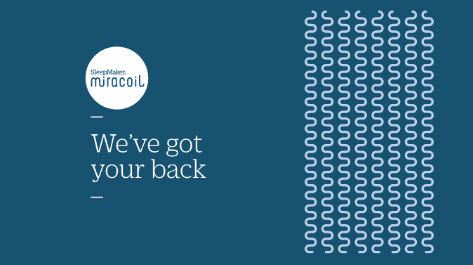 SleepMaker Miracoil - We've Got your back