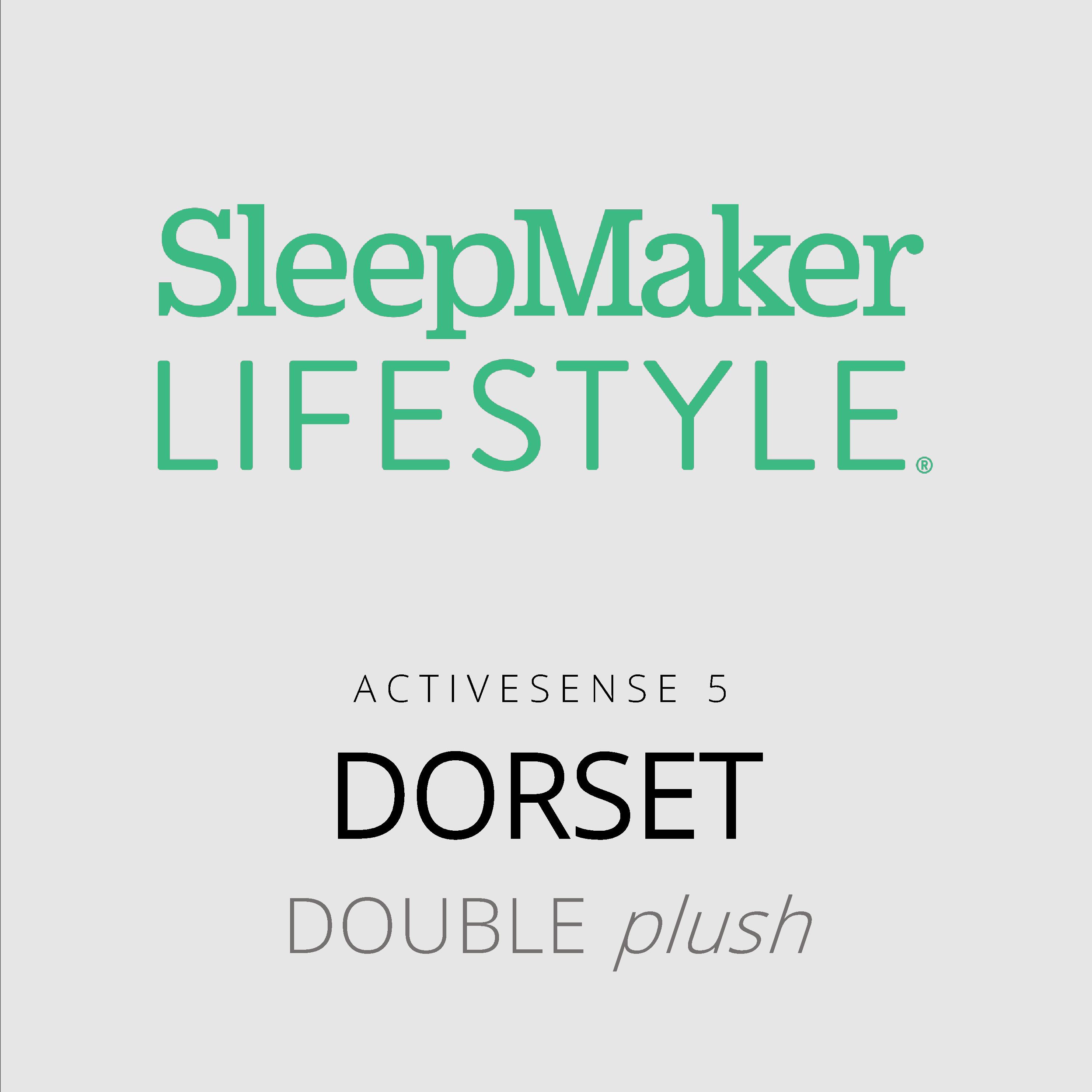 SleepMaker Lifestyle – Dorset – ActiveSense 5 – Double Plush Mattress