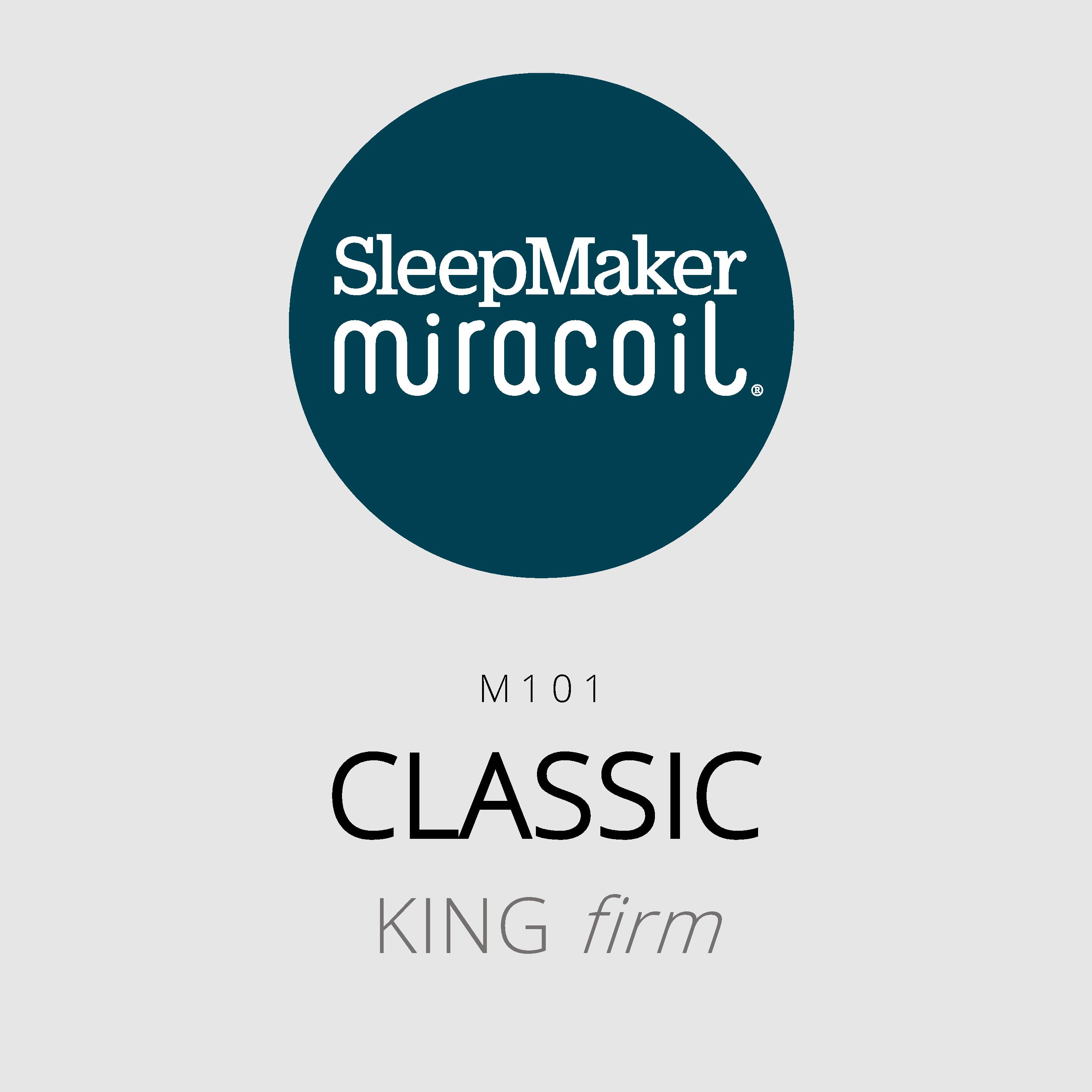 SleepMaker Miracoil – Classic – M101 – King Firm Mattress