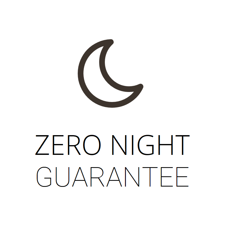 Zero Night Mattress Comfort Guarantee